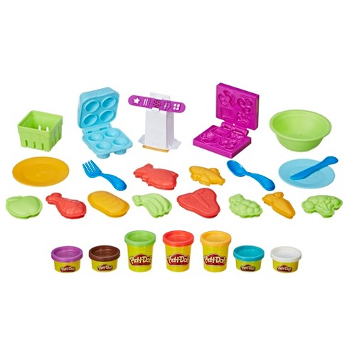 Play Doh Kitchen Creations Grocery Goos
