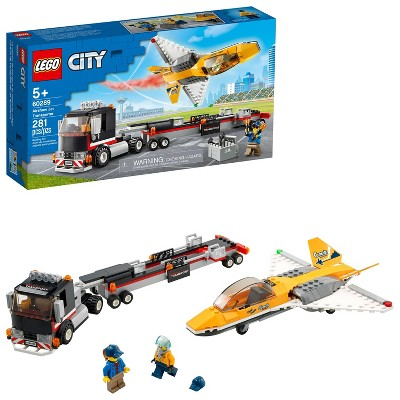 LEGO City Airshow Jet Transporter Building Kit 60289