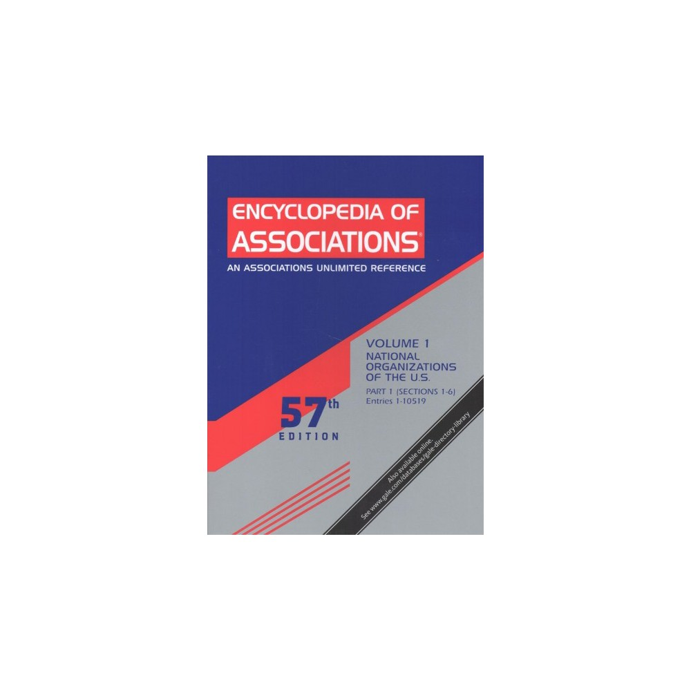 Encyclopedia of Associations : An Associations Unlimited Reference - Book 1 (Hardcover)