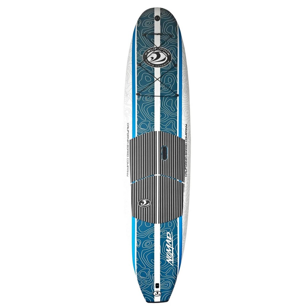 California Board Company Nomad 10'6 Stand Up Paddle Board Package, Multi-Colored