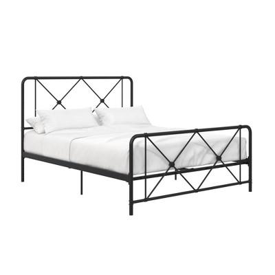 Eleanor Metal Farmhouse Bed - Room & Joy