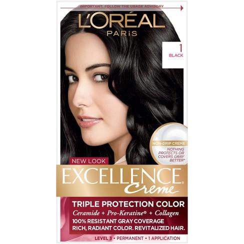 Lor233al Paris Excellence Cr233me Permanent Hair Color Target