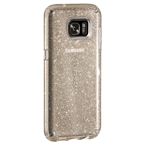 best sneakers 3f977 2d03c Speck Galaxy S7 Edge CandyShell Clear Gold Glitter