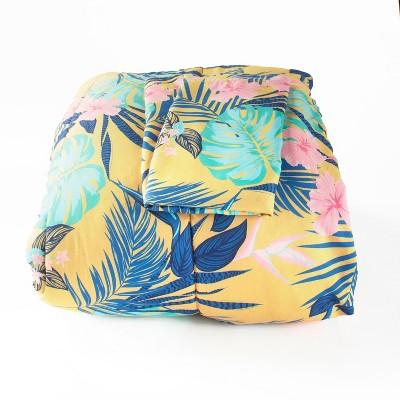 Lakeside Tropical Paradise Comforter Set with Pillow Shams