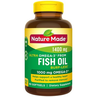 Vitamins & Supplements: Nature Made Ultra Omega-3 Fish Oil