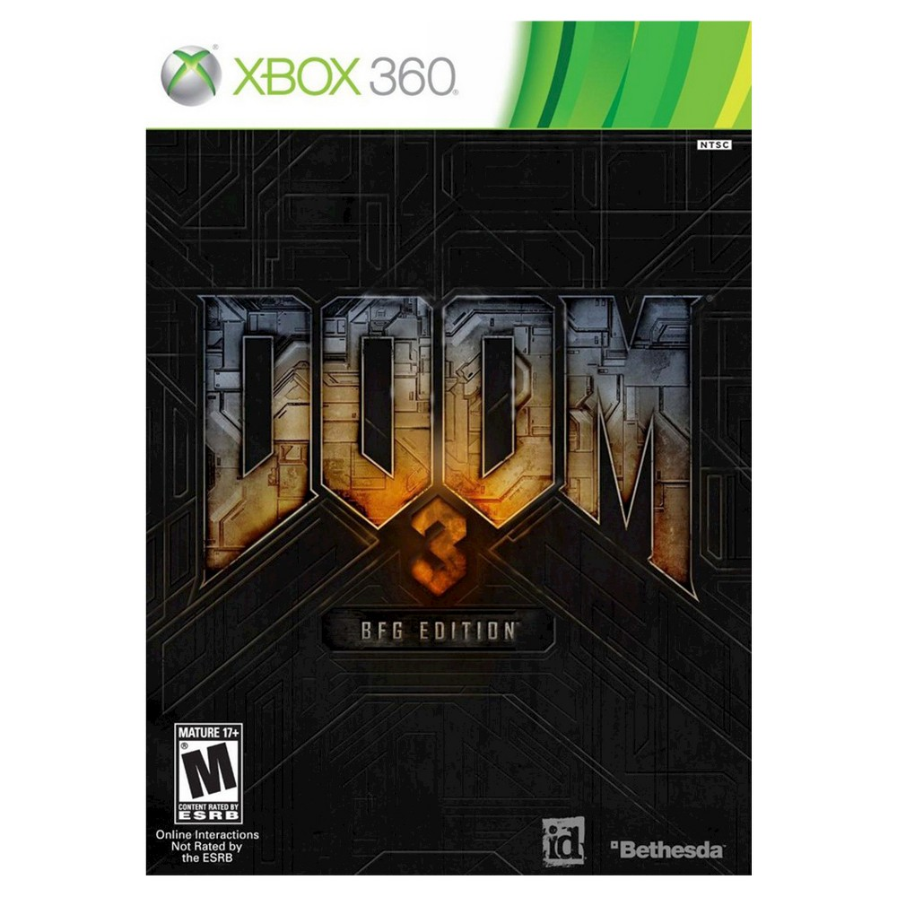 Doom 3 Bfg Edition Xbox 360 Attempt to keep an entire army of demons away from Earth in Dead Space (Xbox 360) - Bethesda. The game works for Xbox 360 consoles. The shooter video game is recommended for ages 17 and up.