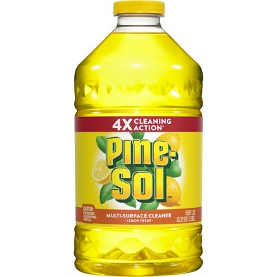 Pine-Sol Multi-Surface Cleaner Lemon Fresh 100 oz