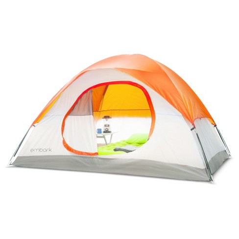 4 person Dome Tent Orange - Embark™ - image 1 of 2