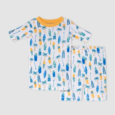 Burt's Bees Baby® Toddler Boys' Surfboards Pajama Set - Orange