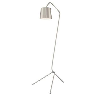 Quana Floor Lamp Brushed Nickel (Includes CFL Light Bulb) - Lite Source