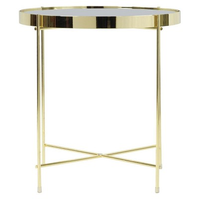 Superieur Ritz Side Table   Gold   Urb SPACE