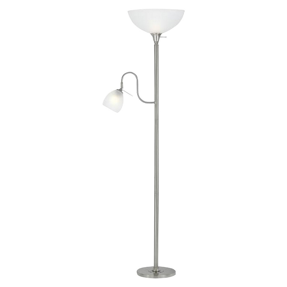 Cal Lighting Metal Floor Lamp with reading Lamp and uplight (Lamp Only)