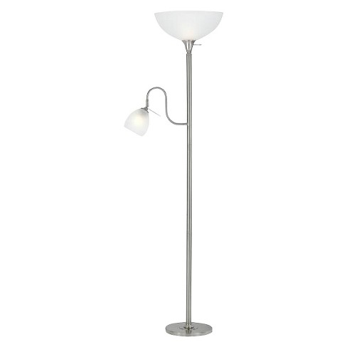 Cal Lighting Metal Floor Lamp with reading Lamp and uplight - image 1 of 1
