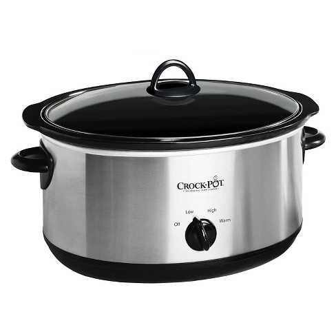 Crock PotR 8 Qt Manual Slow Cooker