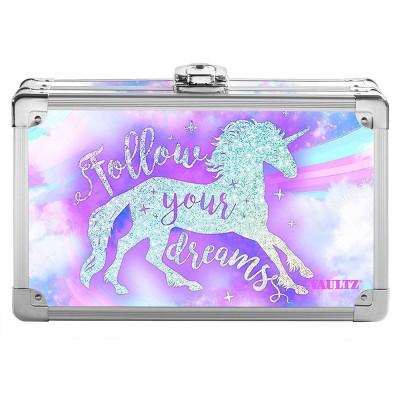 Metal Pencil Box Sparkle Unicorn - Vaultz