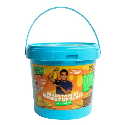 Guava Toys Big Bucket of Premade Slime Gold Galore - image 1 of 3