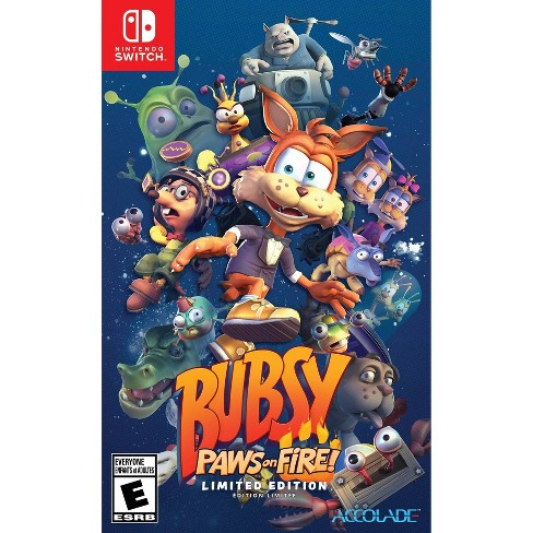 Bubsy: Paws on Fire! Limited Edition - Nintendo Switch - image 1 of 4