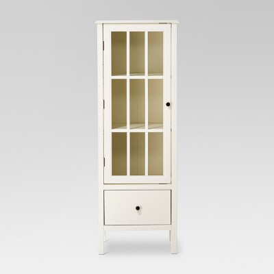 Windham 56  Narrow Library Cabinet with Door/Drawer Shell - Threshold™