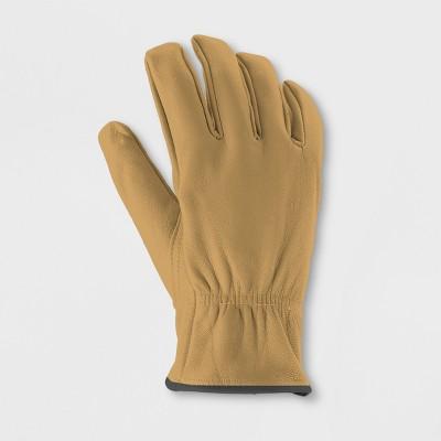 Leather Garden Gloves Brown L/XL - - Smith & Hawken™
