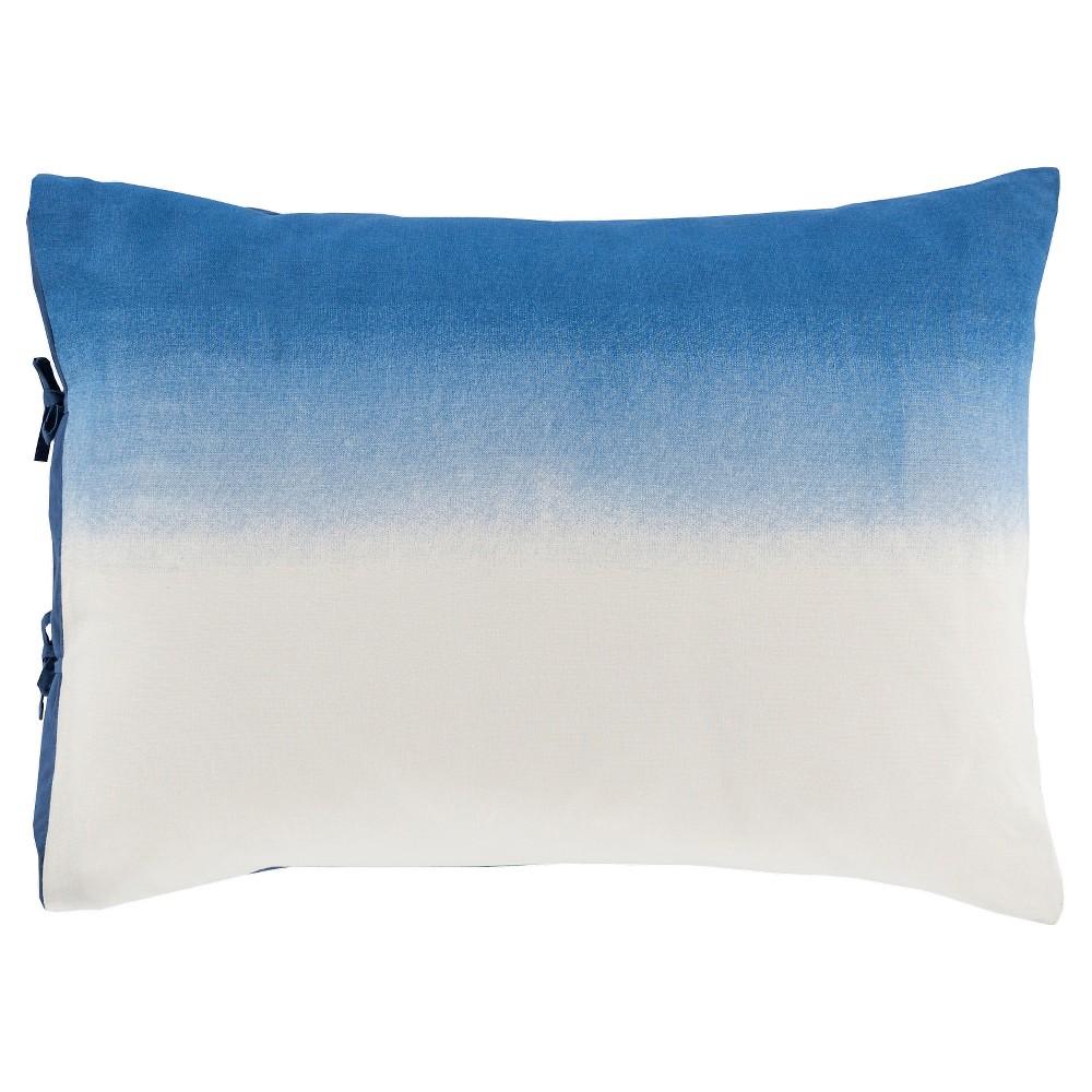Navy (Blue) Belaya Tonal Pillow Sham (Euro) - Surya