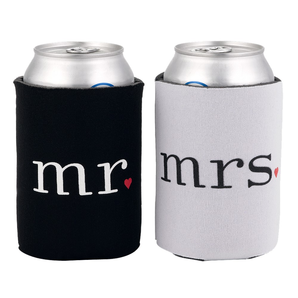 Image of Mr. and Mrs. Can Coolers, Black