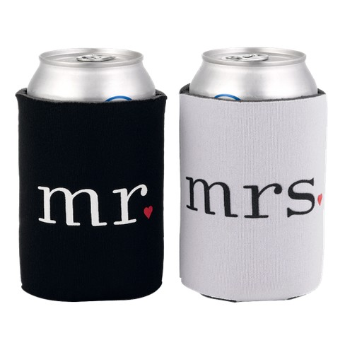 Mr. and Mrs. Can Coolers - image 1 of 1
