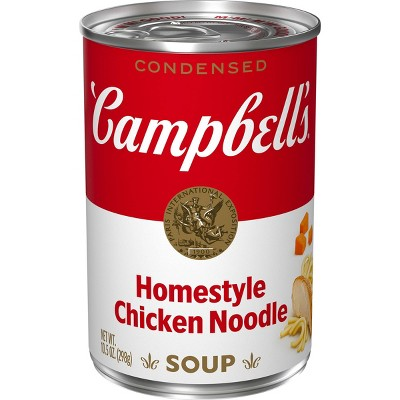 Campbell's Condensed Homestyle Chicken Noodle Soup - 10.5oz