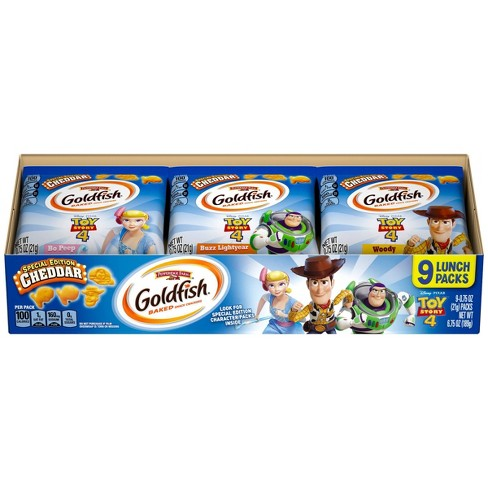 Goldfish Toy Story Cheese Crackers - 9ct - image 1 of 7