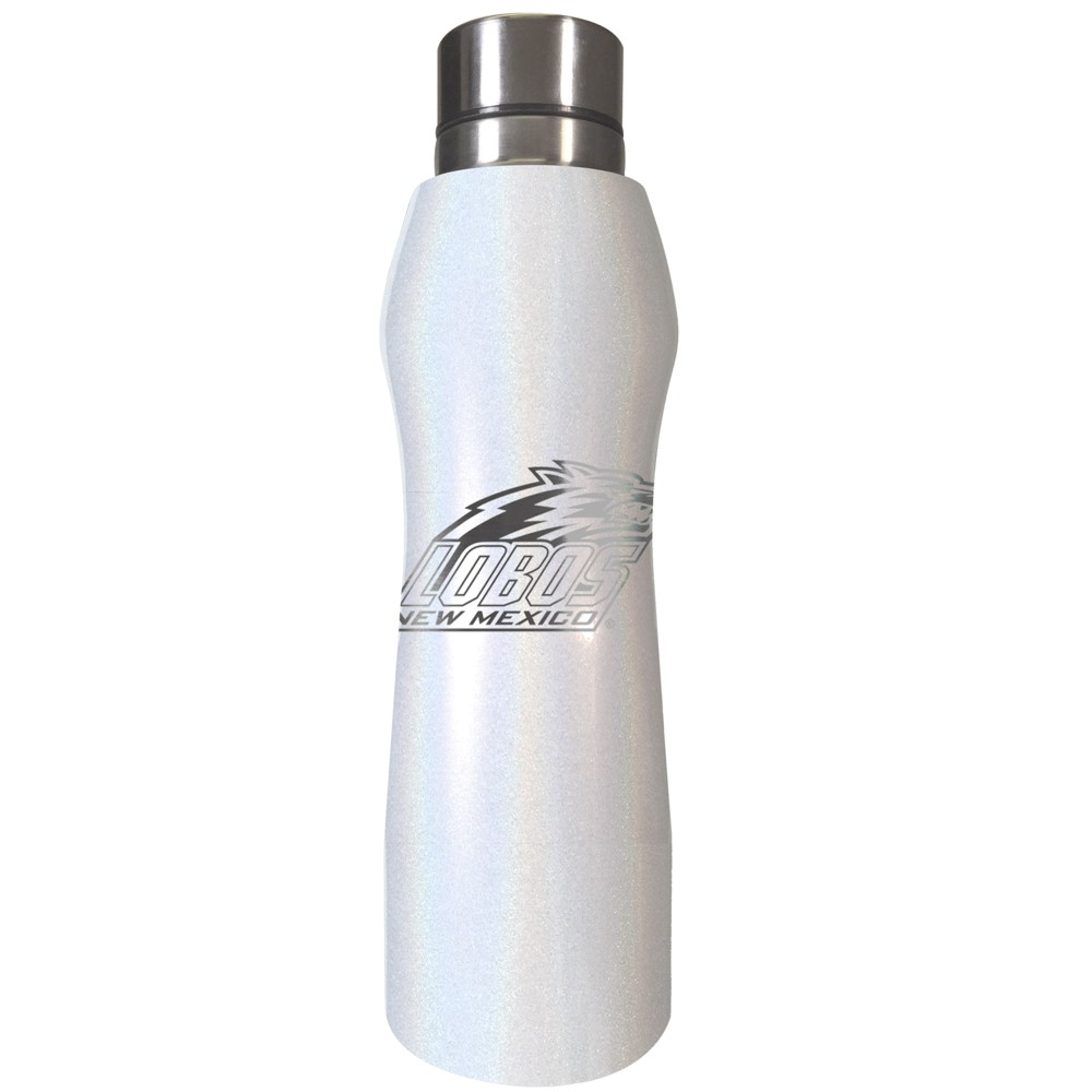 NCAA New Mexico Lobos Opal Curved Stainless Tumbler