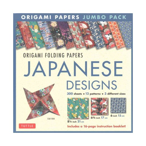 Origami Folding Papers Jumbo Pack Japanese Designs 300 Origami