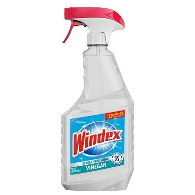 Windex Glass Cleaner Trigger Bottle Vinegar - 26 fl oz