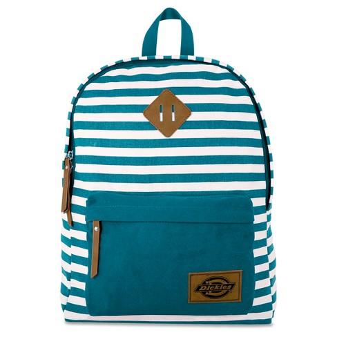 Dickies Classic Canvas Backpack - Harbor Blue Stripe   Target 1e1479c26f31b