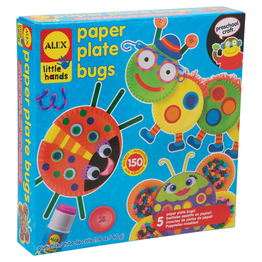 Image of ALEX Toys Little Hands Paper Plate Bugs
