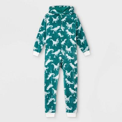 Boys' Dino Pajama Jumpsuit - Cat & Jack™ Green