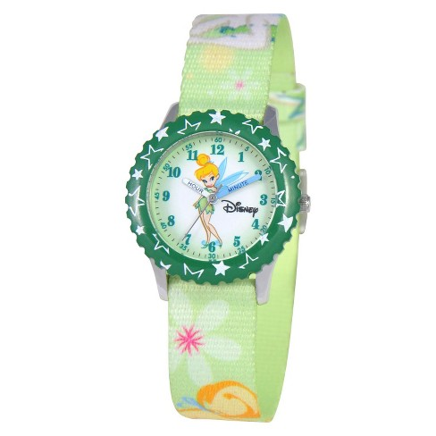 Disney® Tinker Bell Kids Watch Green - image 1 of 1