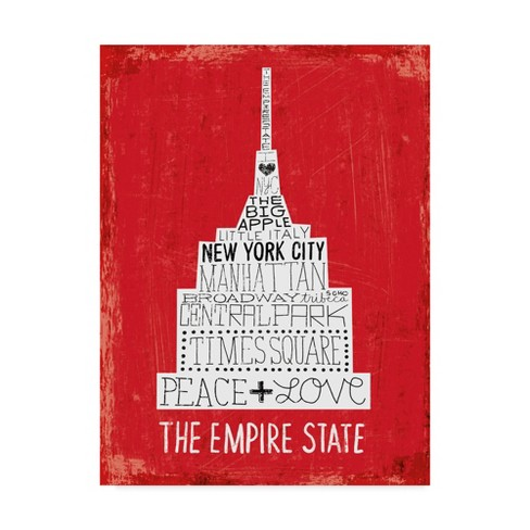 "Trademark Fine Art 14"" x 19"" Michael Mullan 'Iconic Nyc IV' Canvas Art - image 1 of 3"