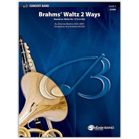 BELWIN Brahms' Waltz 2 Ways Conductor Score 3 (Medium Easy) - image 1 of 1