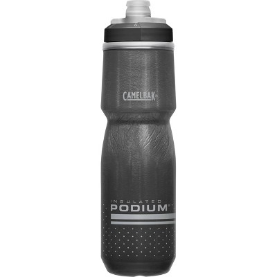 CamelBak 24oz Podium Chill Insulated Squeeze Water Bottle - Black