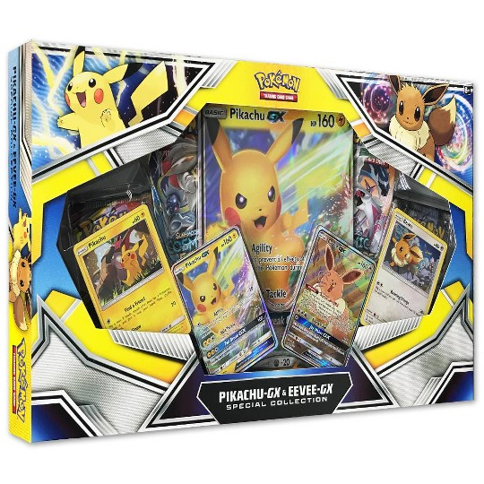 Pokemon Trading Card Game Pikachu-GX & Eevee-GX Special Collecton image number null