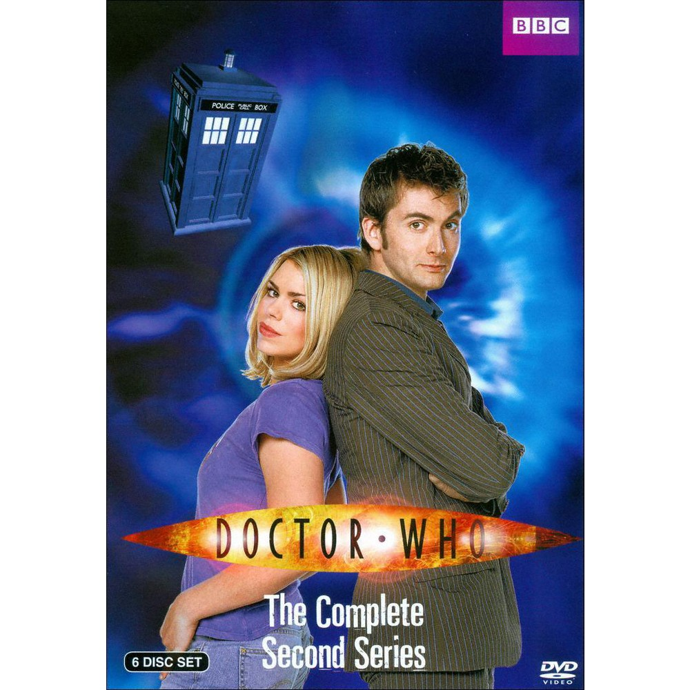 Doctor Who:Complete Second Series (Dvd)