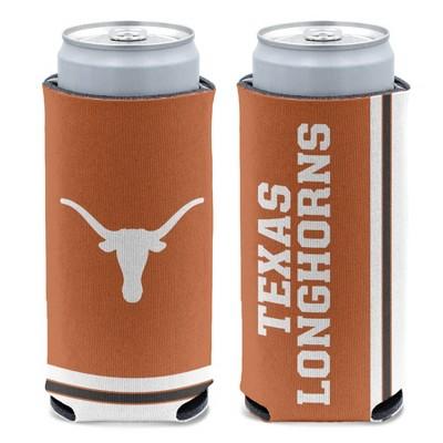 NCAA Texas Longhorns Slim Can Cooler
