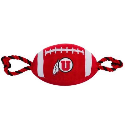 NCAA Utah Utes Nylon Football Dog Toy