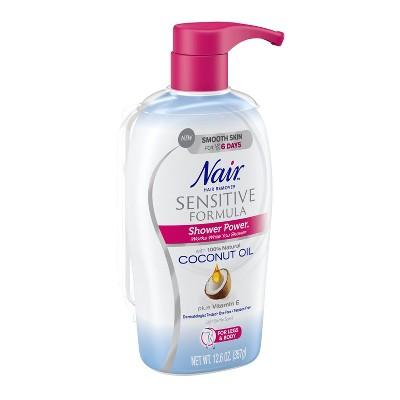 Power Sensitive Nair Coconut Shower 12 6oz Oil With CeWdoQrBx