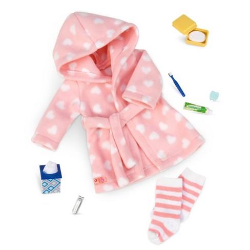 "Our Generation Sleepwear Robe Set for 18"" Dolls - Good Night, Sleep Tight - image 1 of 4"