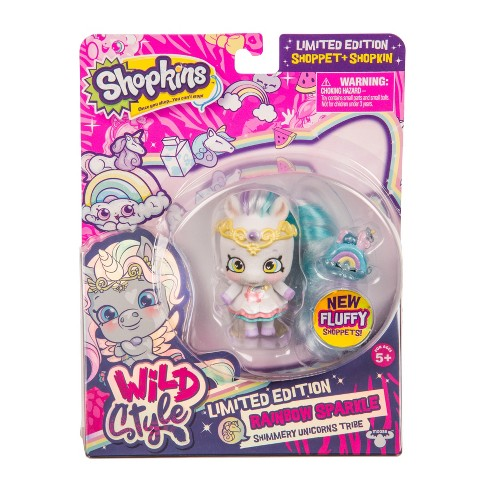Shopkins Wild Style Shoppet - Rainbow Sparkle Limited Edition - image 1 of 5