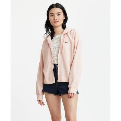 Levi's® Women's Zip Skate Hoodie Sweatshirt - Rose