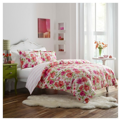 Buffy Duvet Cover Set - Pink - Poppy & Fritz® - image 1 of 1