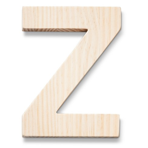 Hand Made Modern - Wood Letter Large - Z - image 1 of 4