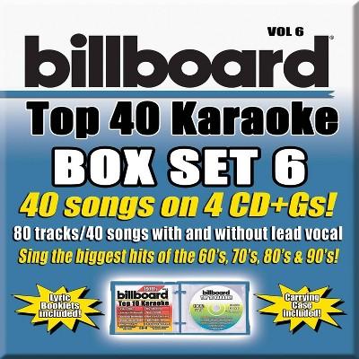 Party Tyme Karaoke - Billboard Top 40 Karaoke Box Set Vol. 6 (CD)