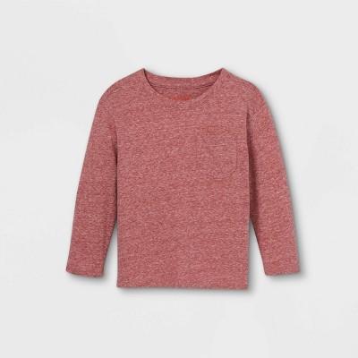 Toddler Boys' Jersey Knit Pocket Long Sleeve T-Shirt - Cat & Jack™